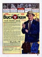 Buck Skein [advertisement]