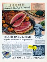 Baked Ham a la Star [advertisement]