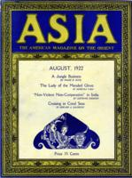 ASIA: The American Magazine on the Orient, vol.XXII no.8