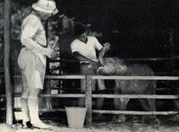 Too Young to Feed, Frank Buck and Ali
