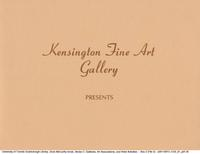 Kensington Art Gallery Presents Recent Paintings by Doris McCarthy, : [exhibition card]