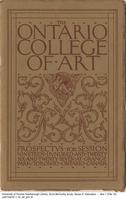 Ontario College of Art: Prospectus for Session 1926-1927