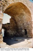 Stone archway at Byblos archaeological site