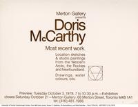 Doris McCarthy: Most recent work