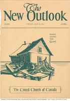 "Cover of ""The New Outlook"" featuring a print of Doris McCarthy"