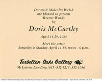 Recent Works by Doris McCarthy