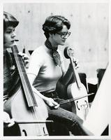 Students playing cello