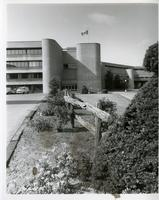 Main entrance of original Scarborough College, UTSC