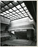 Interior shot of meeting place