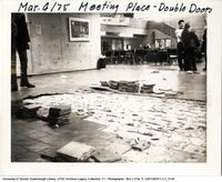 Tile Damage in Meeting Place