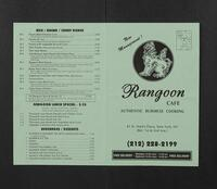 Rangoon Cafe
