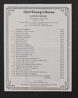 Chef Chang's House