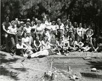 Archeology class group photograph