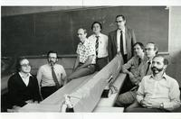 Photograph of physics professors (?)