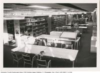 V. W. Bladen Library Stacks and Study Space