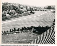 View from Miller Lash House Towards Barn Buildings and Gardener's House