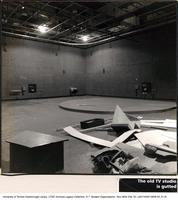 Television Studio Under Construction for the Leigha Lee Browne Theatre