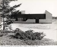 Construction of Scarborough College: Bladen Library, south view
